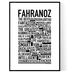 Fahranoz Poster