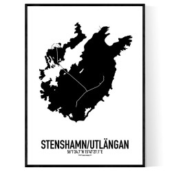 Stenshamn/Utlängan Karta