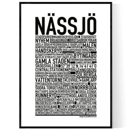Nässjö Poster