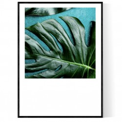 Mint Monstera Poster