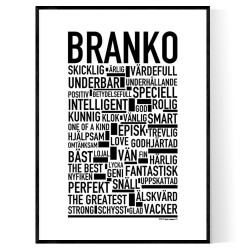 Branko Poster