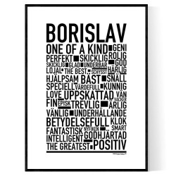 Borislav Poster
