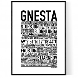 Gnesta Poster