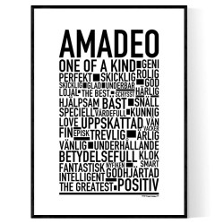 Amadeo Poster