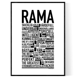 Rama Poster