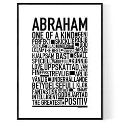 Abraham Poster