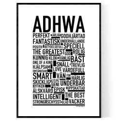 Adhwa Poster