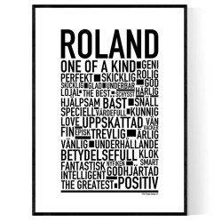 Roland Poster