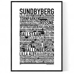 Sundbyberg Poster