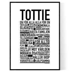 Tottie Poster