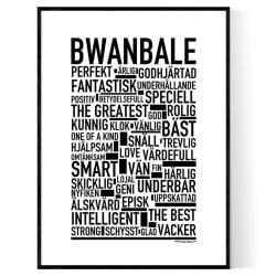 Bwanbale Poster
