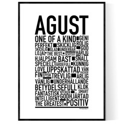 Agust Poster