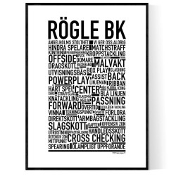 Rögle BK Poster
