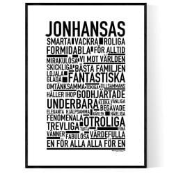 Jonhansas Poster