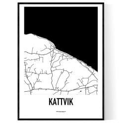 Kattvik Karta