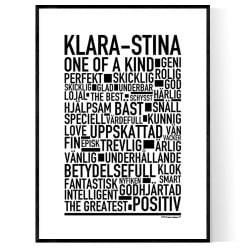 Klara-Stina Poster