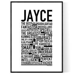 Jayce Poster