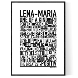 Lena-Maria Poster