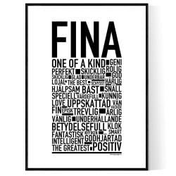 Fina Poster