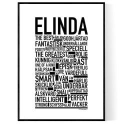 Elinda Poster