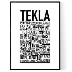 Tekla Poster