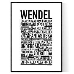 Wendel Poster