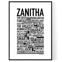 Zanitha Poster