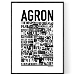 Agron Poster