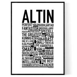 Altin Poster