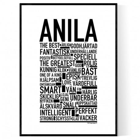 Anila Poster