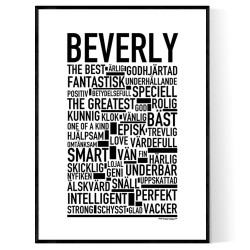 Beverly Poster