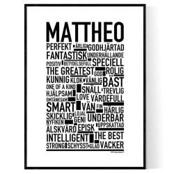 Mattheo Poster