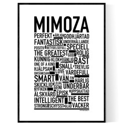 Mimoza Poster