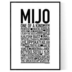 Mijo Poster