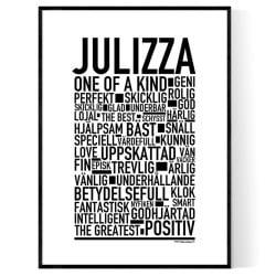 Julizza Poster