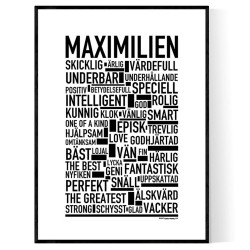 Maximilien Poster