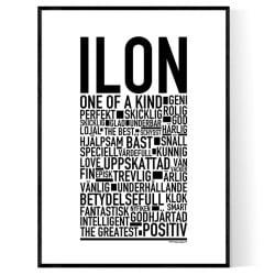 Ilon Poster