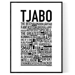 Tjabo Poster