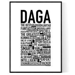 Daga Poster