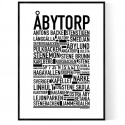Åbytorp Poster