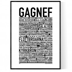 Gagnef Poster