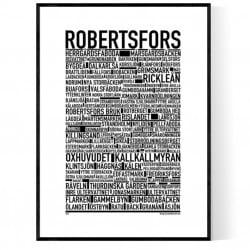 Robertsfors Poster