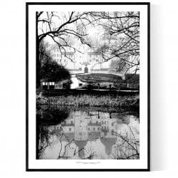 Läckö Slott Vinter Poster