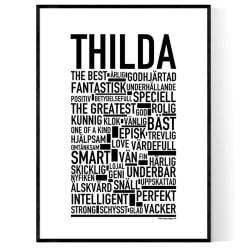 Thilda Poster