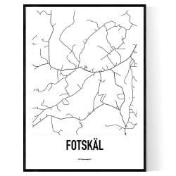 Fotskäl Karta