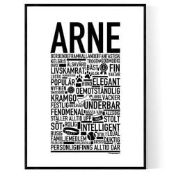 Arne Hundnamn Poster