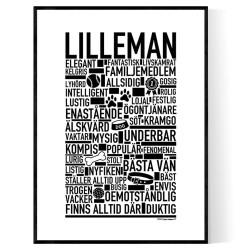 Lilleman Hundnamn Poster