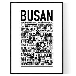 Busan Hundnamn Poster