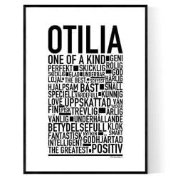 Otilia Poster