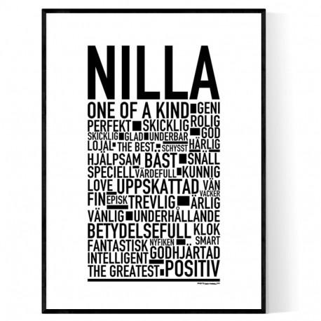Nilla Poster